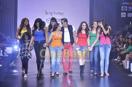 420c96bae3c8f cogini  Salman s Being Human show at HDIL Couture Week 2010 - Photos ...