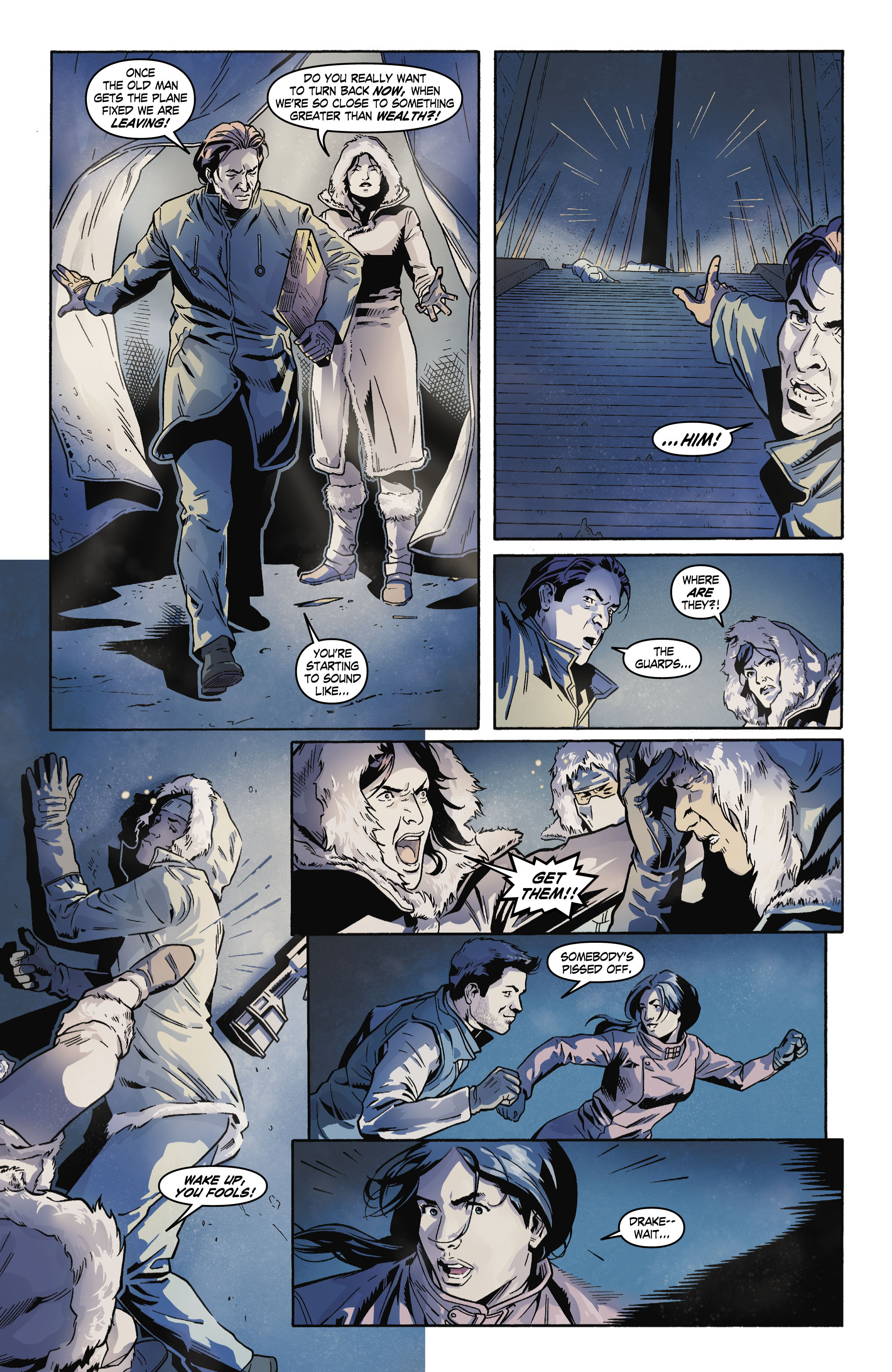 Read online Uncharted comic -  Issue #4 - 11