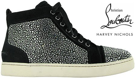 Christian Louboutin for Men in 2010. Pharrell was spotted wearing a pair  before their release. 93cb627ba