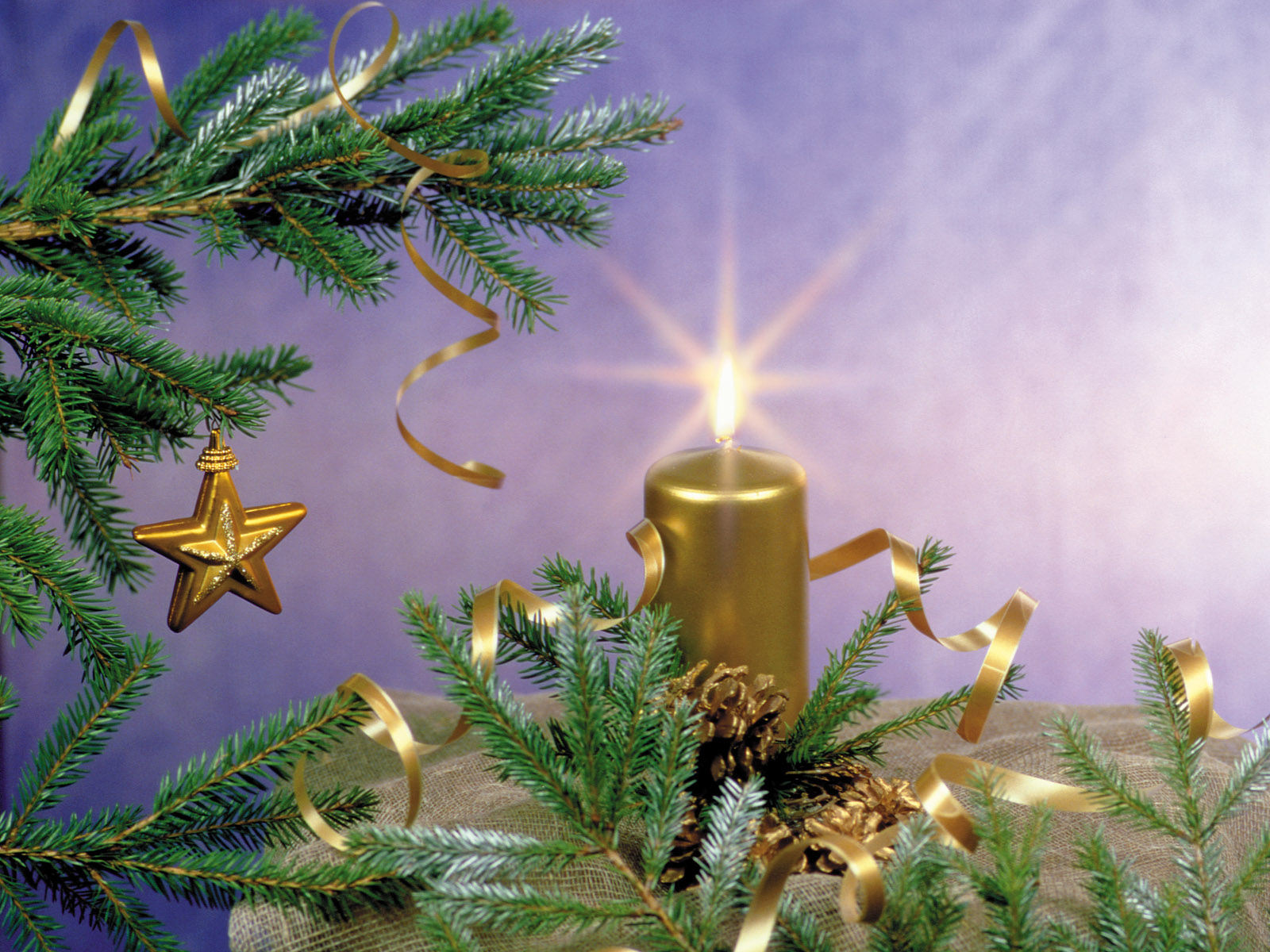 45 Amazing New Year Christmas Candle HR Wallpapers ...