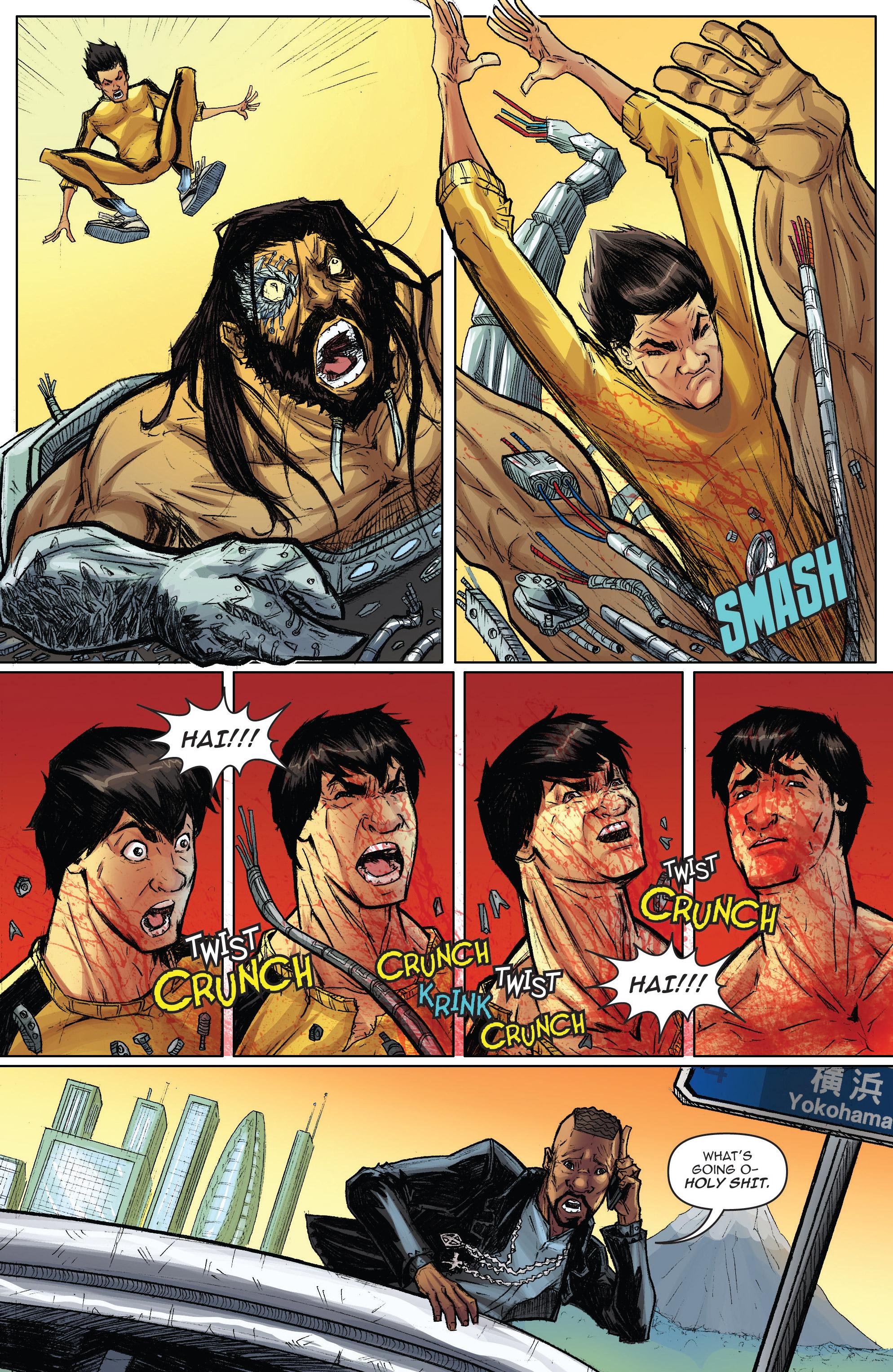 Read online Infinite Seven comic -  Issue #3 - 26