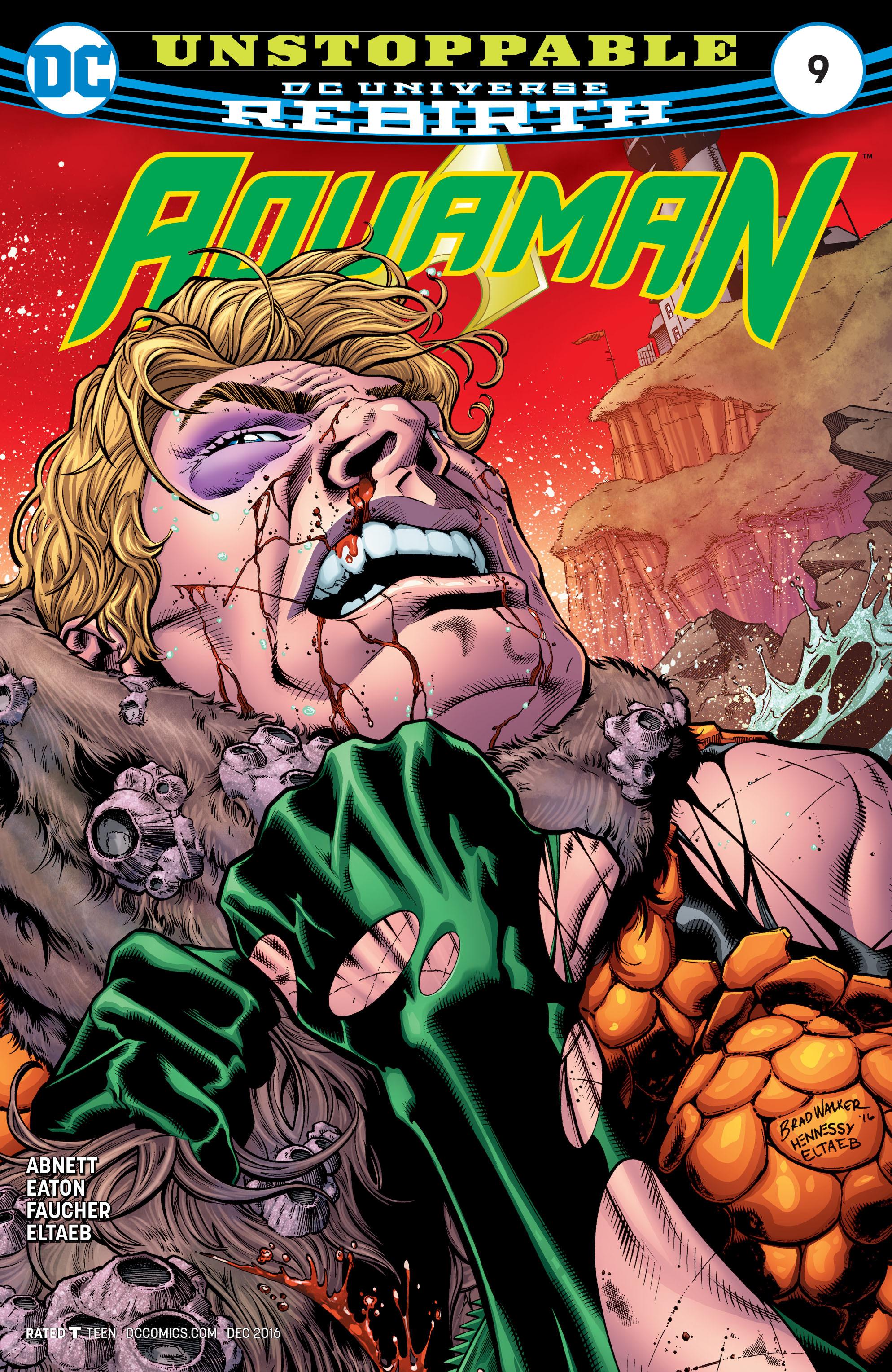 Read online Aquaman (2016) comic -  Issue #9 - 1