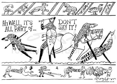 Bayeux Tapestry Coloring Pages Free Sketch Coloring Page
