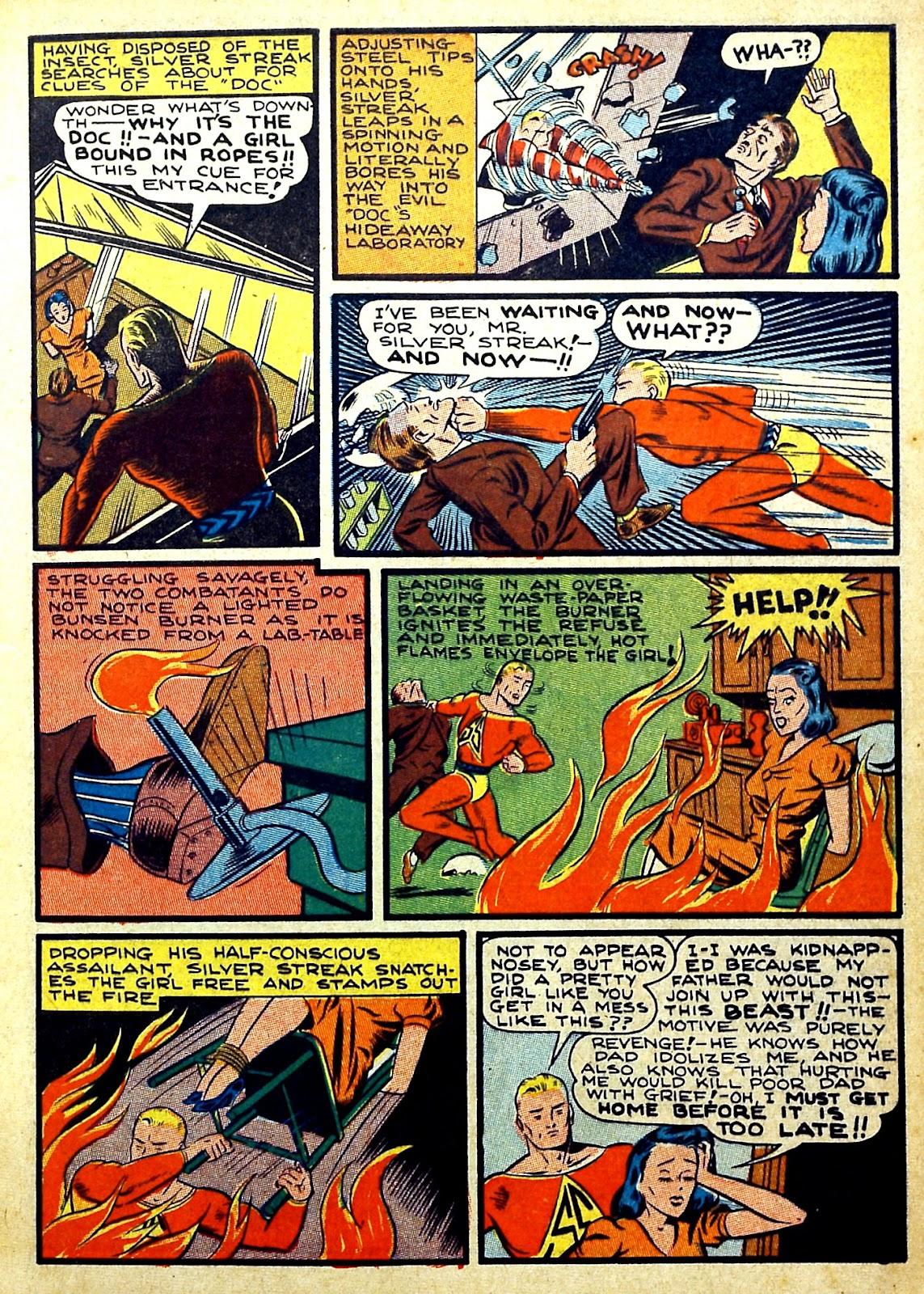 Read online Silver Streak Comics comic -  Issue #22 - 7