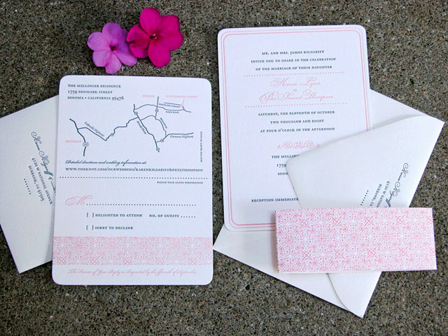 PatternArches DSCN0024 Wedding Invitations — Chewing the Cud, part 2