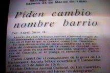 HISTORIA DEL BARRIO CARLOS DANIEL