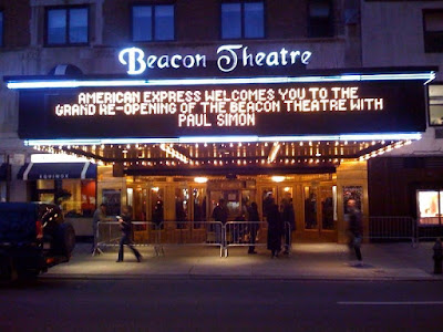 Paul Simon Re-Opens Beacon Theatre for Valentines Concert