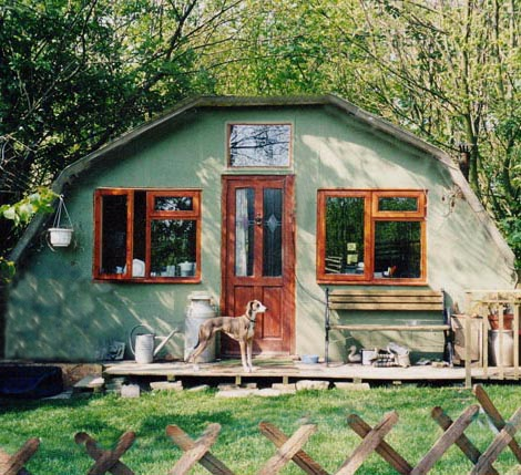Tax On Bonus Uk >> Shedworking: Timegirl's Nissen hut