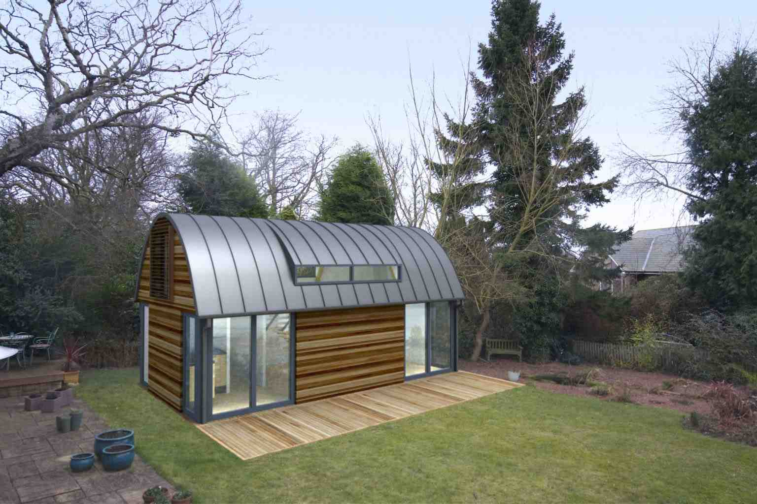 office barn. Garden Office Barn T