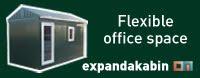 the flat-packed, man-portable garden storage, garden workshop and garden office solutions