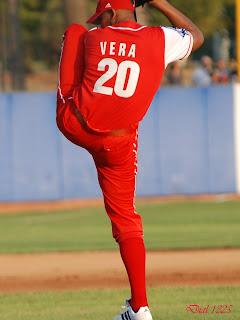 Vera se presentó en gran forma