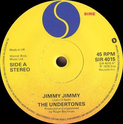 The Undertones Jimmy Jimmy