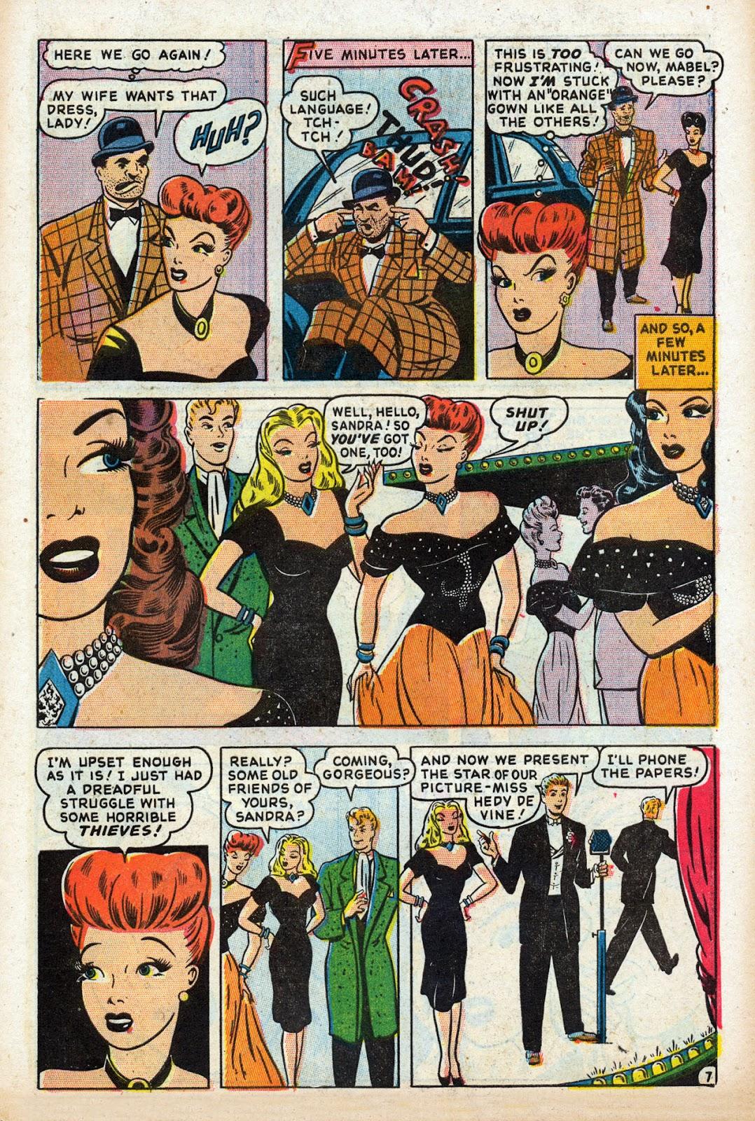 Read online Comedy Comics (1948) comic -  Issue #3 - 9