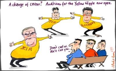 d0592a867051 Adelaide Green Porridge Cafe  Goodbye Yello Wiggle Hello Yellow Wiggle