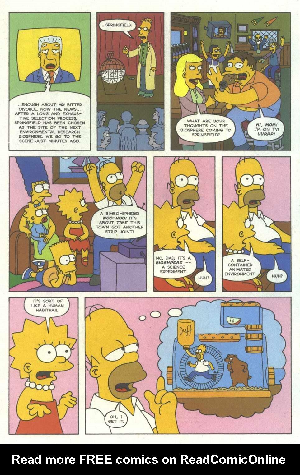 Read online Simpsons Comics comic -  Issue #12 - 3
