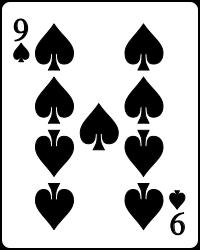 nine spade card  Card Connections: Nine of Spades
