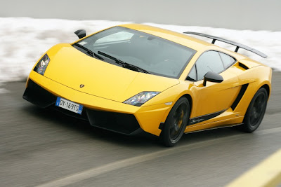 Gallardo Superleggera Yellow