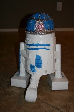 The Cole Family: First Grade Robot Project