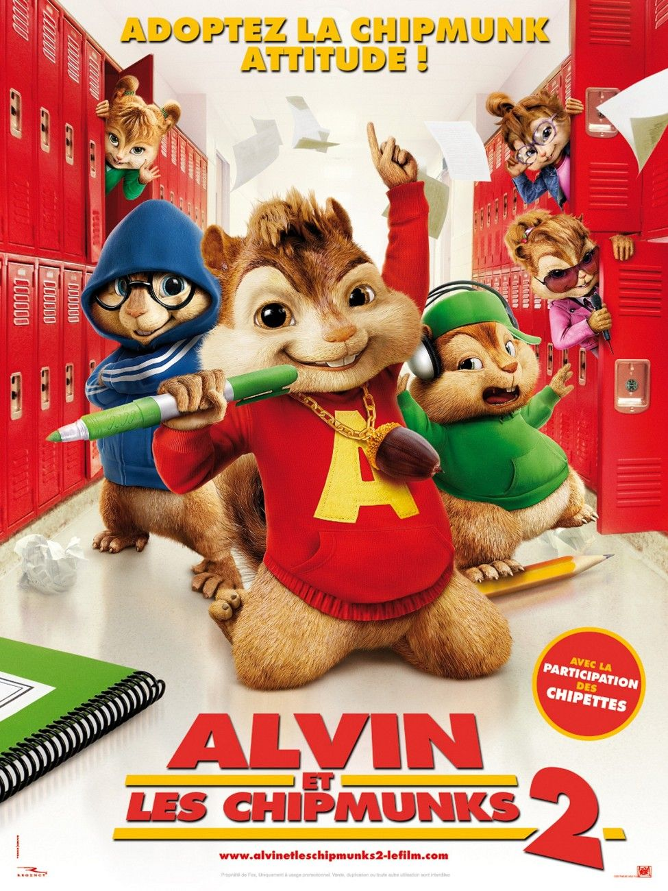 tus películas: ALVIN Y LAS ARDILLAS 2 (2009) - Audio ...