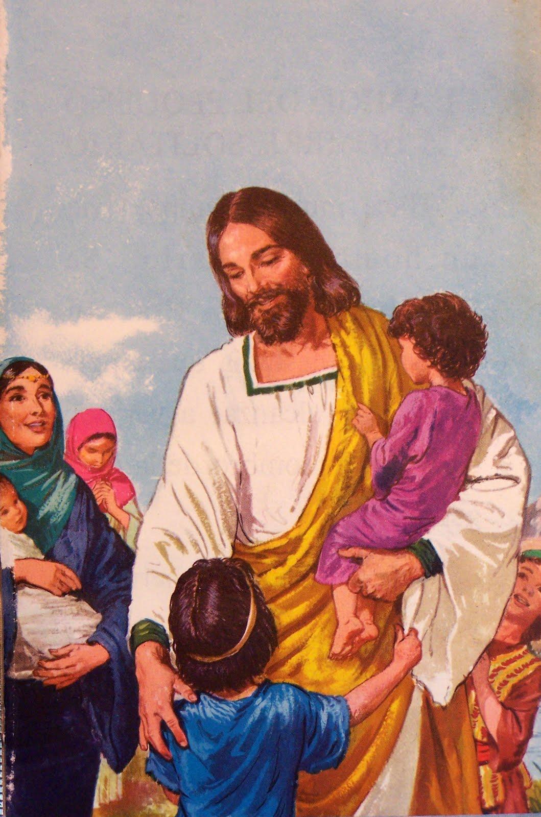 Children For Daz Studio And Poser: Jesus By Paulachan: 56 Jesus With Children