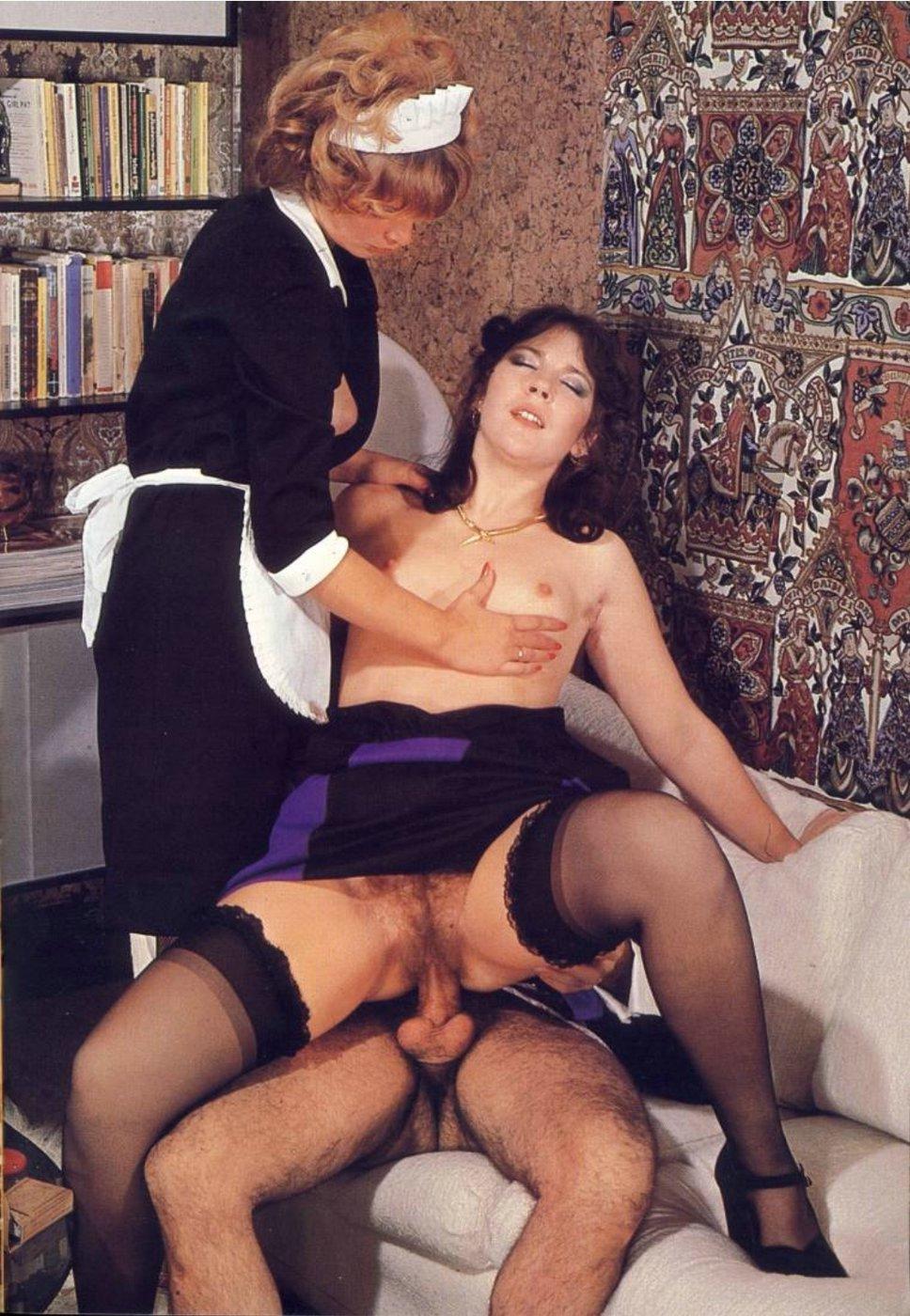 Секс ретро горничные фото