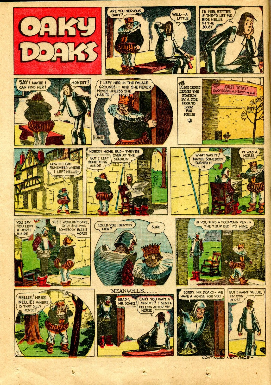 Read online Famous Funnies comic -  Issue #64 - 37