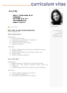 Curriculum Estudiante Sin Experiencia Laboral Curriculums Vitae