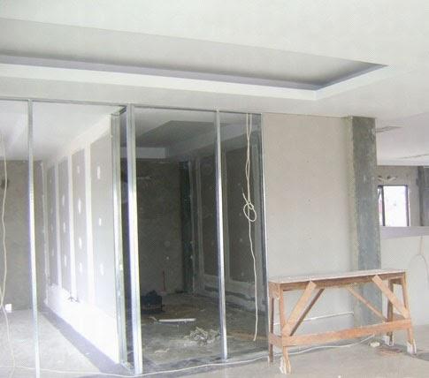 Plafon Dari Baja Ringan Estimasi Harga Dinding Partisi Untuk Renovasi Penambahan ...