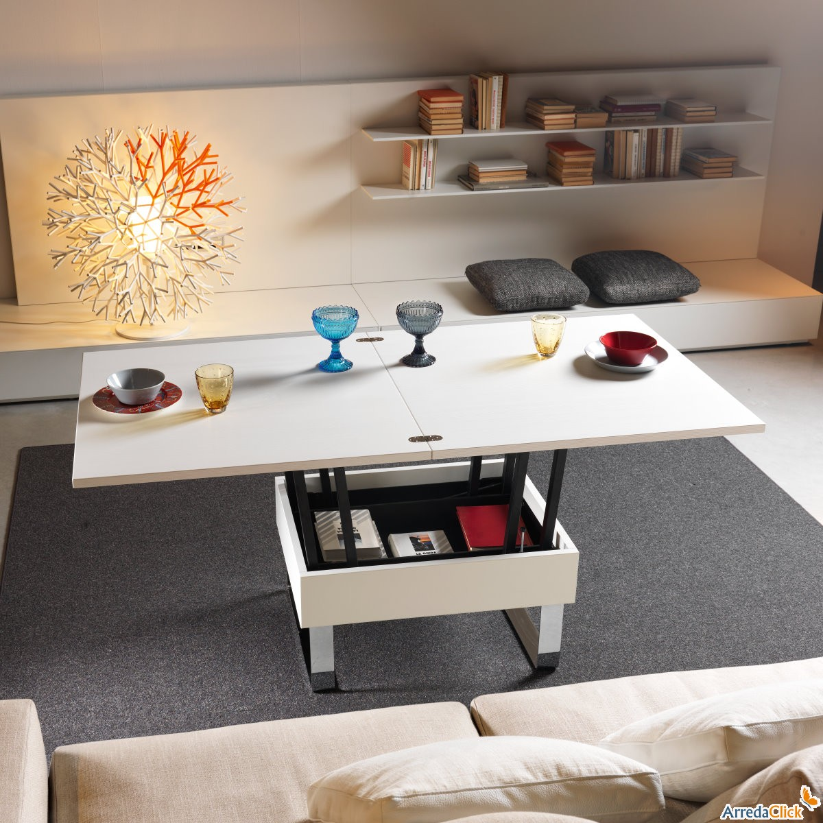 Tavolini Da Salotto Che Diventano Tavoli Da Pranzo.Arredaclick Il Blog Sull Arredamento Italiano Online