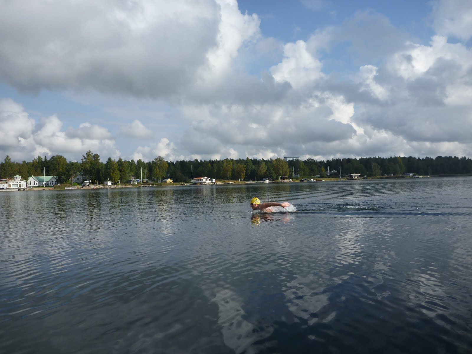 Frenchman In Sweden For A British Cold-water Swim - WOWSA