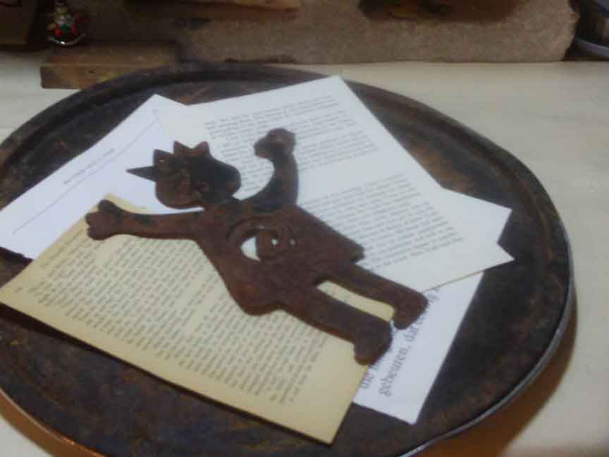 Altered Book Lover Woyww 66 Rusting Paper