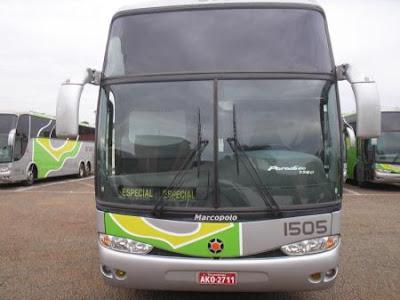 Ônibus de viagem oferece 3G grátis