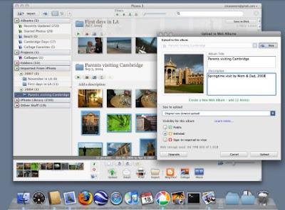 Google apresenta Picasa para Mac