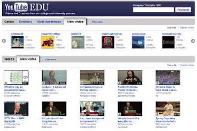 Youtube EDU. Youtube também é Cultura!