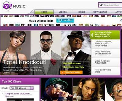 Yahoo! estréia seu novo portal Yahoo! Music