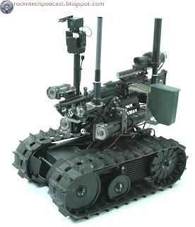 Robôs trazem ficção científica à guerra do mundo real