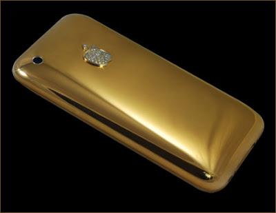Acha o iPhone caro? E esse de ouro e diamantes?