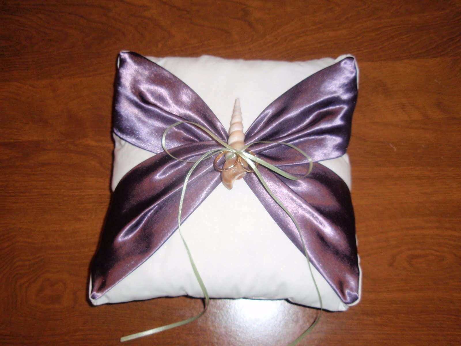 Our Day In the Making DIY Ring Bearer s Pillow