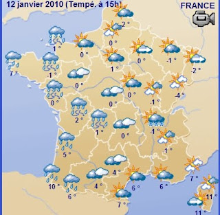 Map Of France Weather.My Unedited Life In France The Weather Today