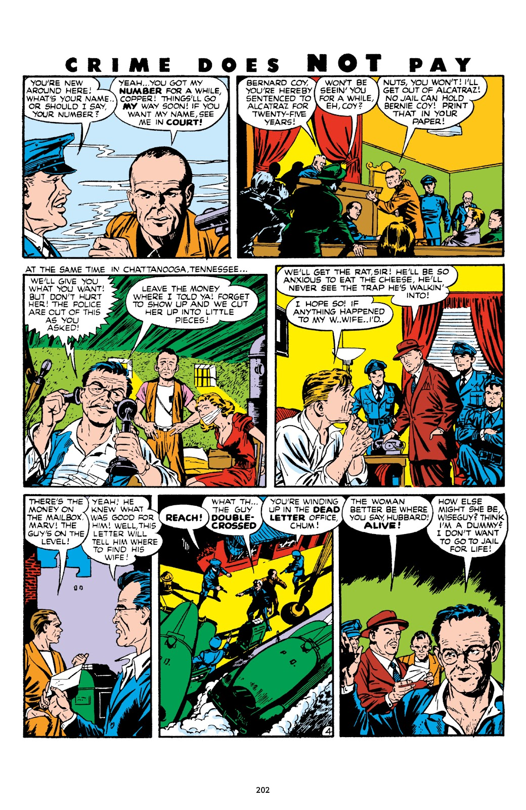Read online Crime Does Not Pay Archives comic -  Issue # TPB 7 (Part 3) - 3