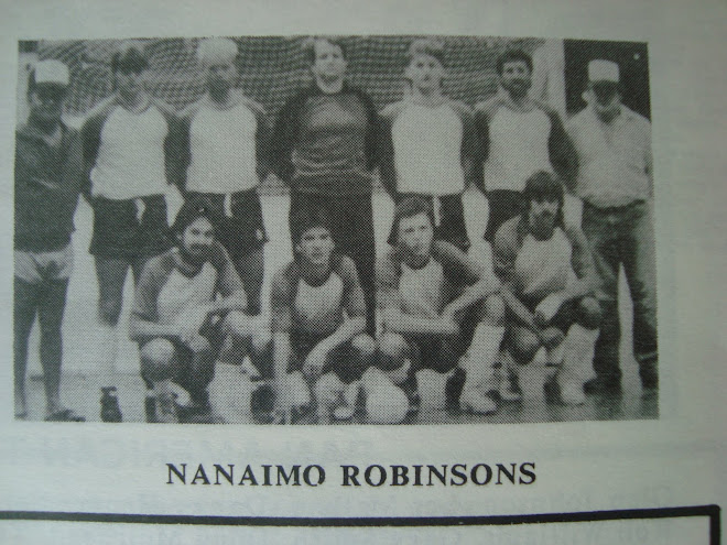 Futsal League at Nanaimo Civic Arena 1988.