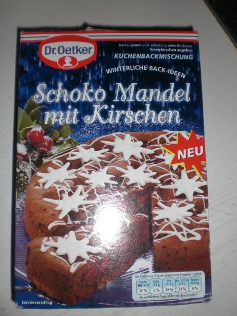Fairytale S Krimskrams Blog Schoko Mandel Kirsch Kuchen Von Dr Oetker