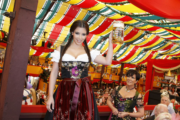 d3ef81b6 Kim Kardashian Celebrates Oktoberfest in Munich with Her Mom