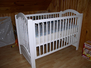 Baby #2's bed