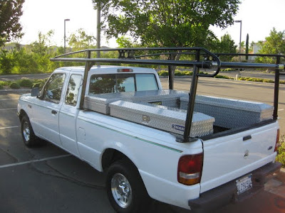ford ranger  ford ranger xlt supercab cyl wutility boxes ladder rack