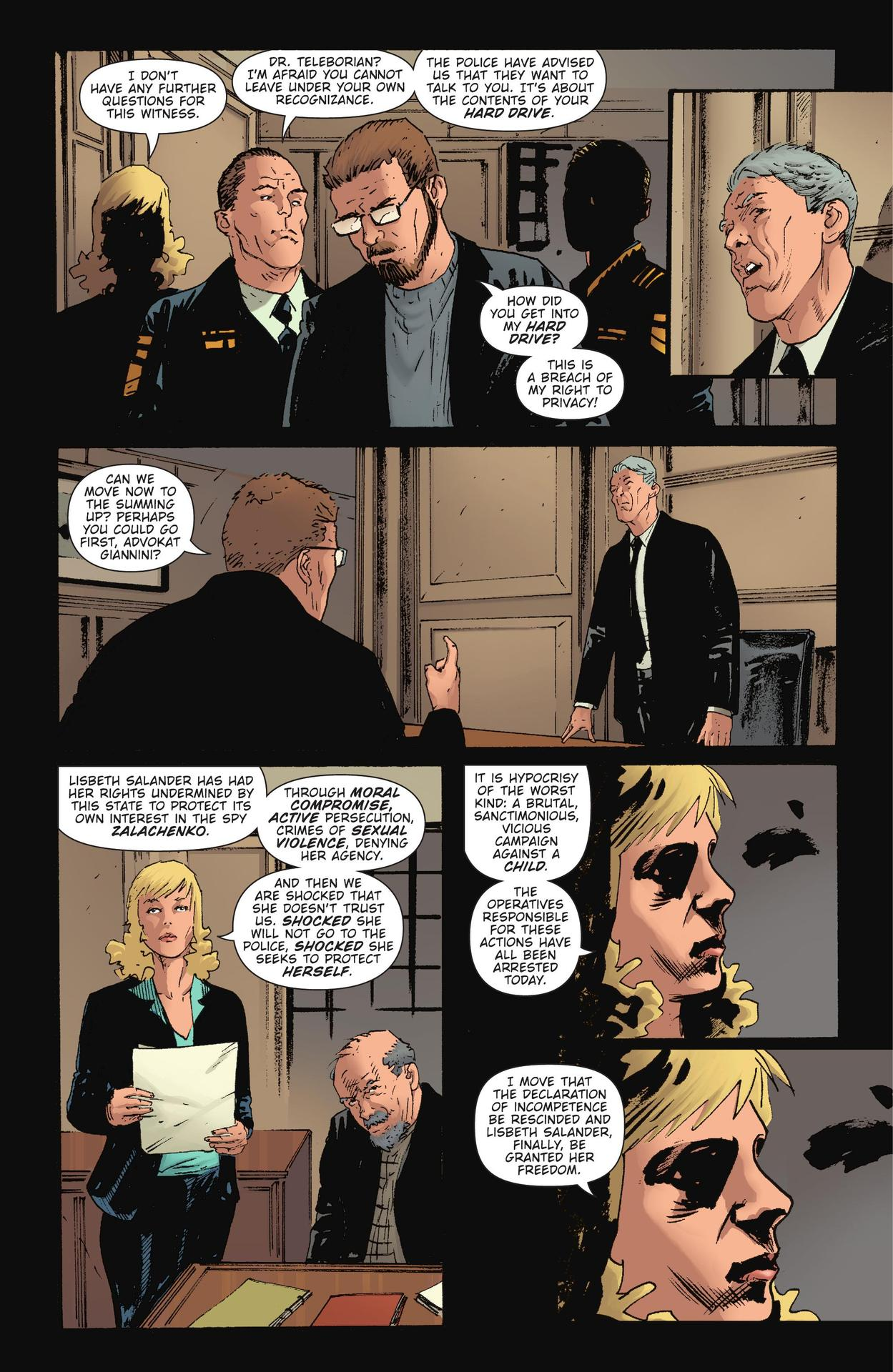 Read online The Girl Who Kicked The Hornet's Nest comic -  Issue # TPB - 248