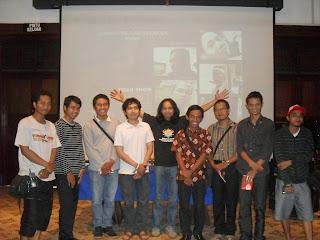 Road Show Film DEBT di Surabaya