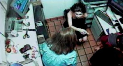 The girls strip searched in mcdonalds uncensored