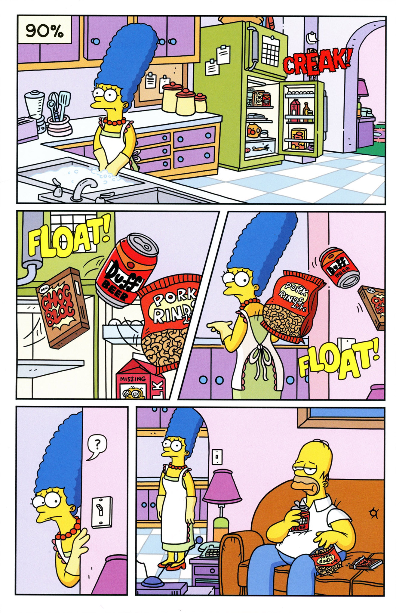 Read online Simpsons Comics comic -  Issue #233 - 12