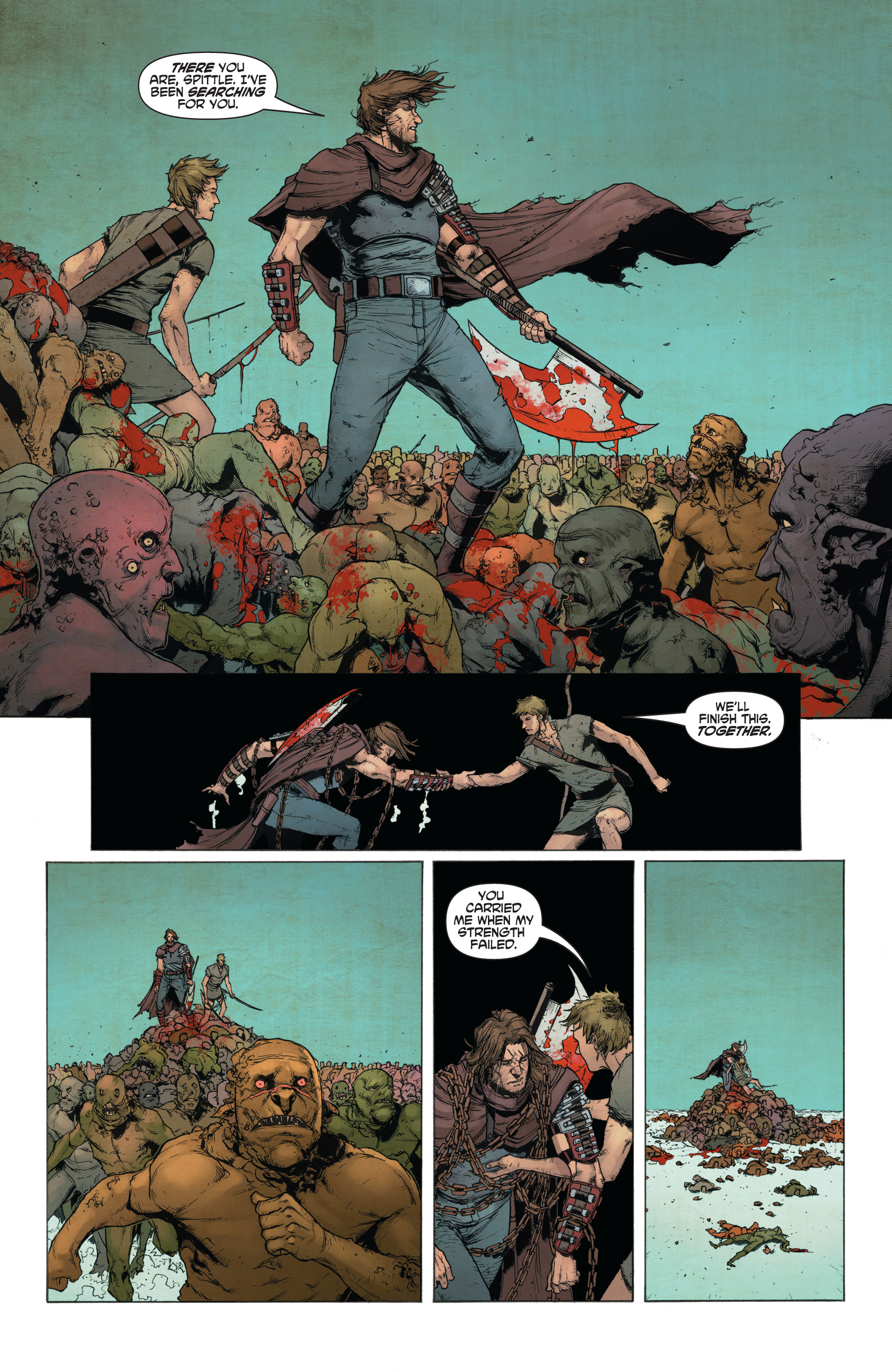 Read online Wrath of the Eternal Warrior comic -  Issue #14 - 14
